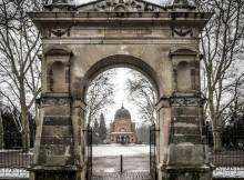 Halle, Eingangsportal Südfriedhof
