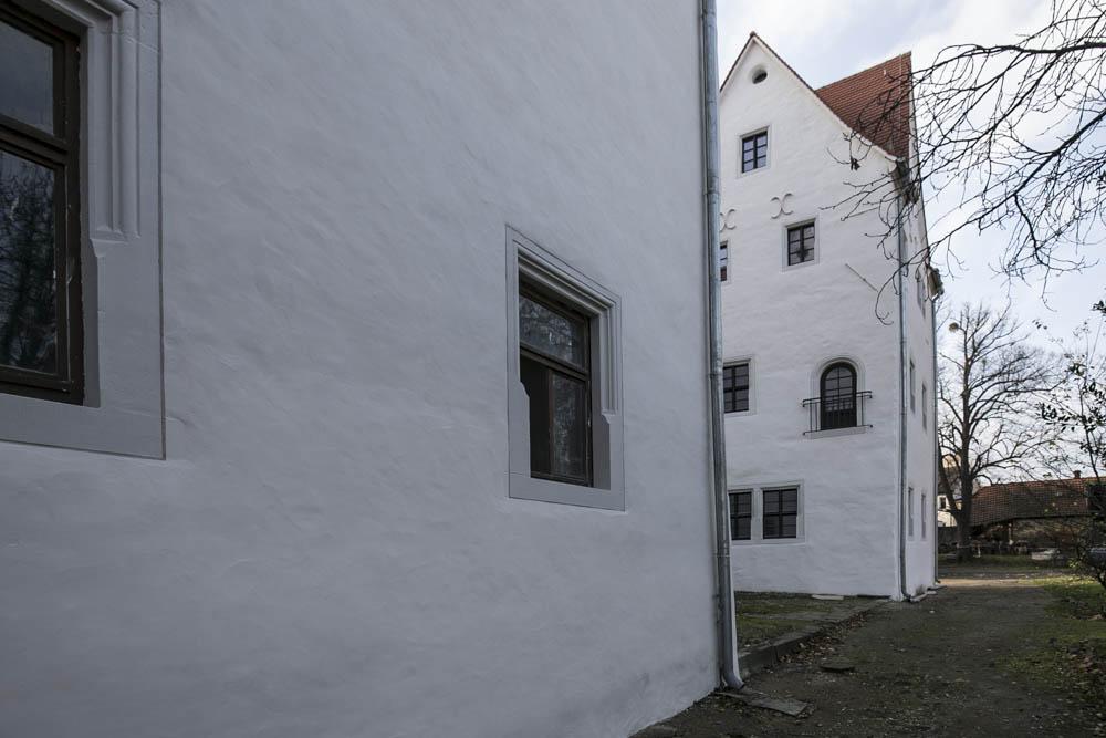 denkmalgerechte Fassadensanierung in Ballenstedt, Oberhof